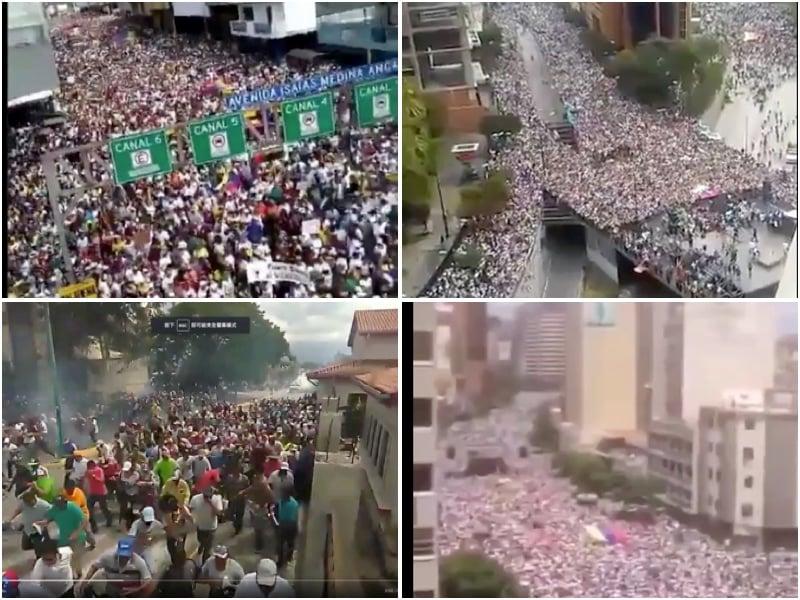 委內瑞拉「變天」獲多國支持 大陸民眾熱議