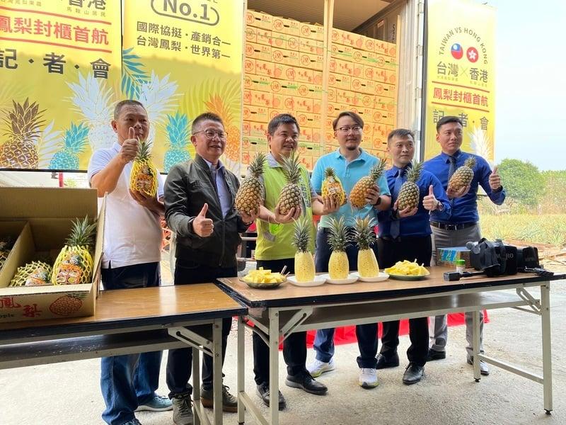無視中共禁令 亞洲消費者搶購台灣菠蘿