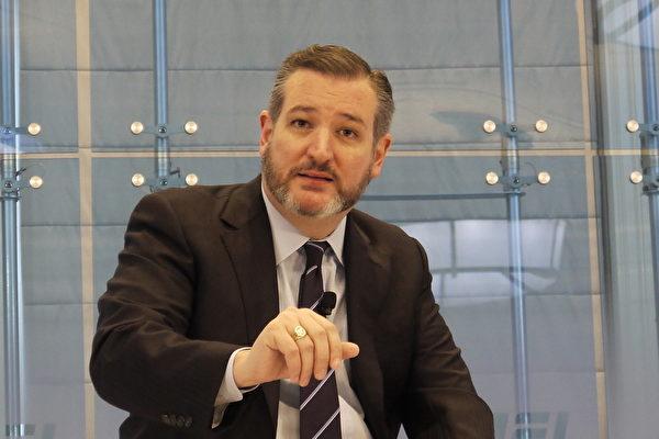 美國參議員克魯茲(Ted Cruz)5月27日發表聲明,支持美國國務院對香港的評估結果。圖為克魯茲。(大紀元資料庫)
