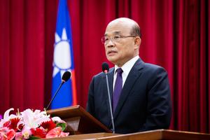 蘇貞昌:中共立法管全世界的人 手段太恐怖