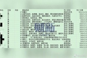 武漢福利院死亡名單曝光 多名醫護染中共肺炎