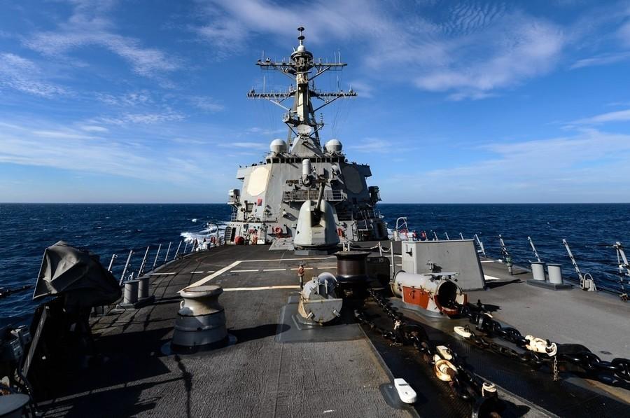 美軍驅逐艦六四紀念日當天穿越台灣海峽