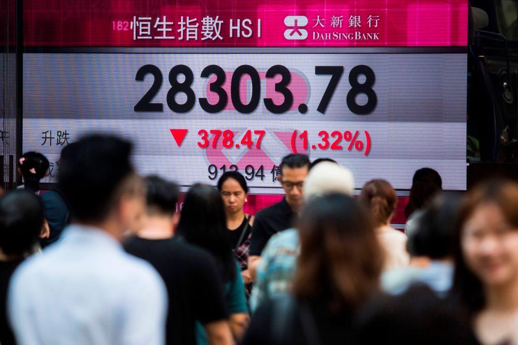 時評專家James G. Rickards在Daily Reckoning上撰文,分析中美貿易戰給中國帶來的實際影響。(ISAAC LAWRENCE/AFP/Getty Images)