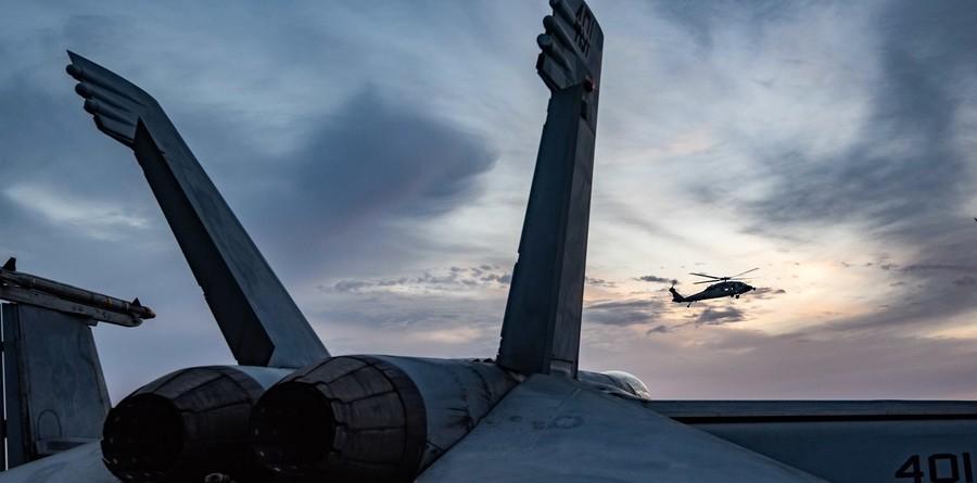 沈舟:列根號返回印太 美航母放空中東
