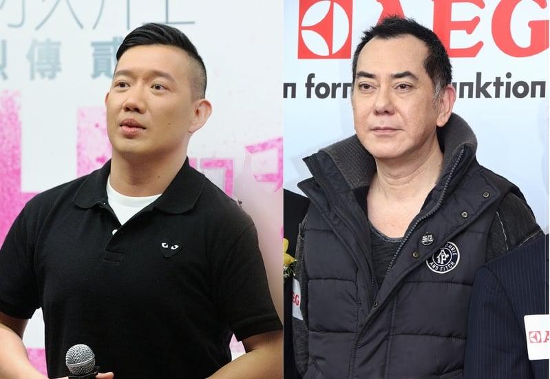 杜汶澤(左)與黃秋生資料照。(宋祥龍、蔡雯文/大紀元)