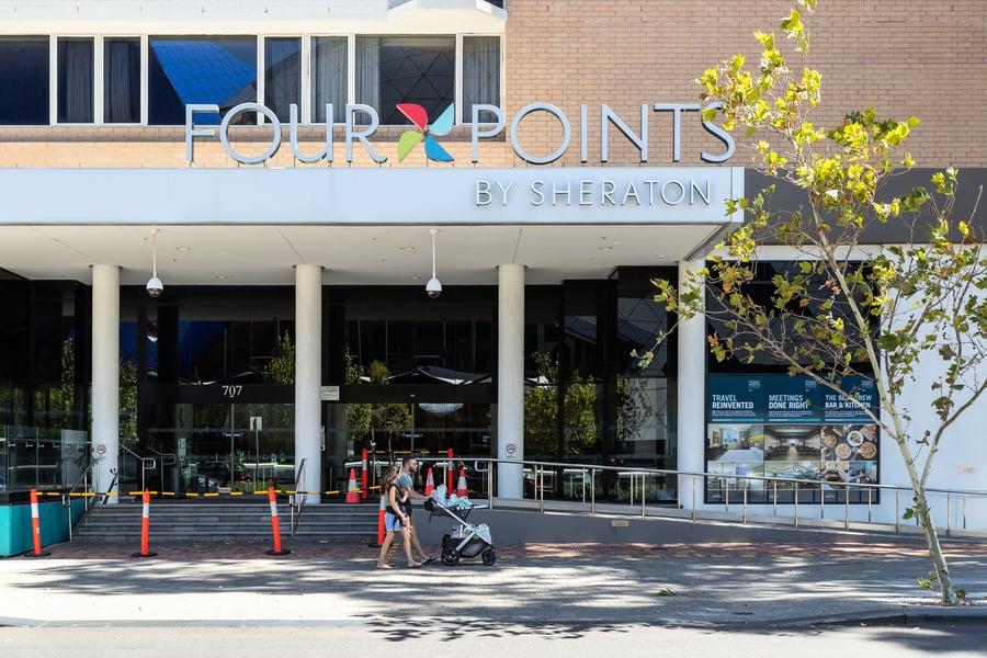 西澳酒店保安染疫 珀斯全面封鎖五天