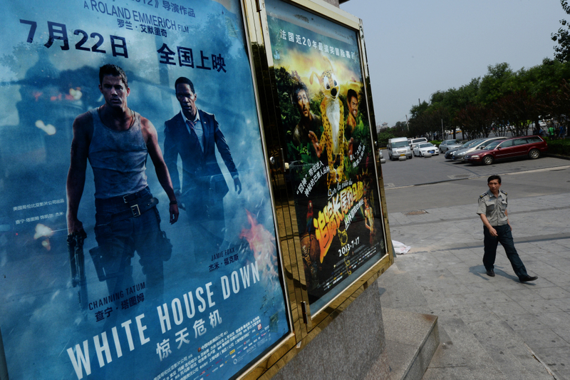中共國家電影局近日稱電影院可以有限開放,但影院業者和觀眾都反應冷淡。圖為北京一家電影院資料圖。(MARK RALSTON/AFP)