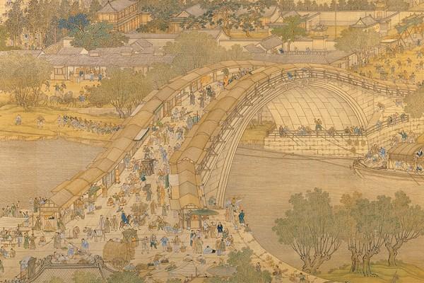 宋朝張擇端將這一幅清明盛世畫作了《清明上河圖》。(公有領域)