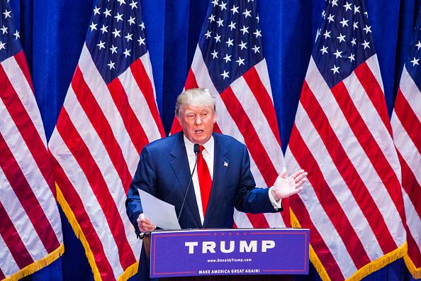 圖為美國候任總統特朗普。(Christopher Gregory/Getty Images)