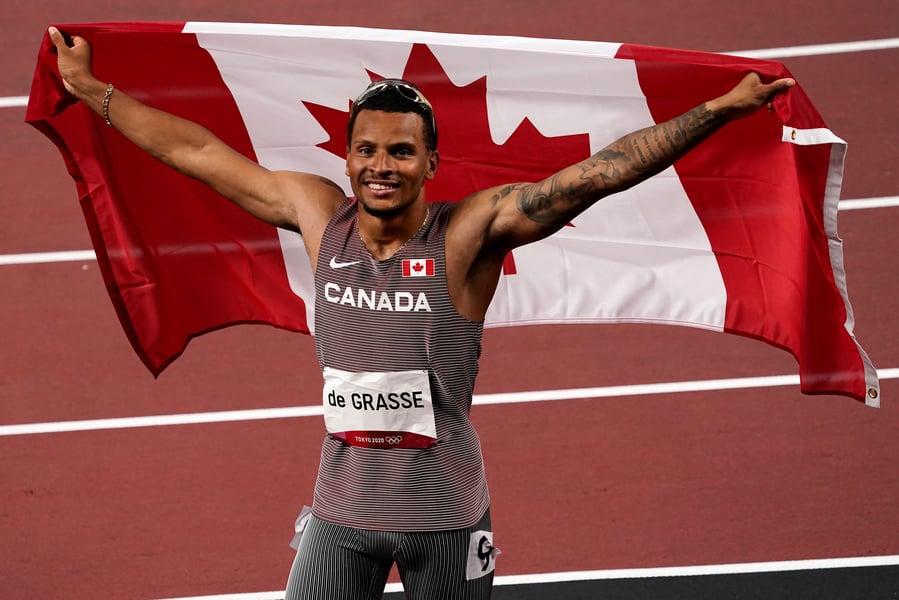 東奧8.4|加拿大名將德格拉斯摘男子200米金牌
