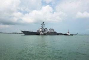 台海局勢升級 美驅逐艦通過台灣海峽