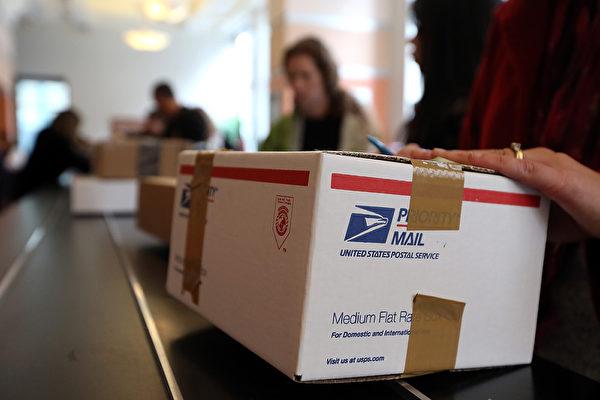 美國白宮周三(10月17日)宣佈,即日起啟動退出萬國郵政聯盟的程序,並在一年內進行國際郵費的雙邊及多邊談判。若談判不成功,美國將於2020年1月1日實施自己的終端費率。(Justin Sullivan/Getty Images)