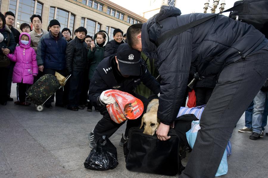 帶剪刀乘火車違法? 外地進京旅客被拘5天