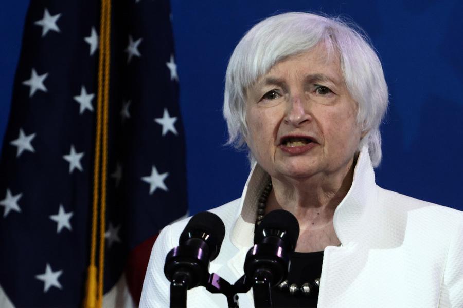 美參議院確認詹妮特·耶倫為財政部長