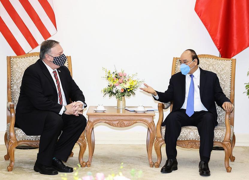 蓬佩奧突訪越南 擬攜手打造印太安全