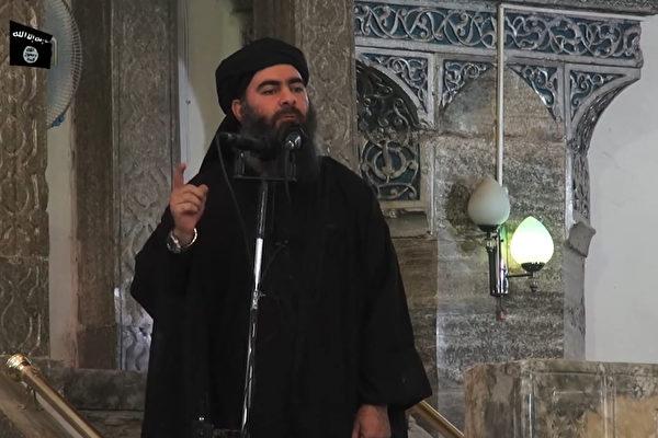美東時間10月27日早上9點,美國總統特朗普正式宣佈,恐怖組織「伊斯蘭國」(ISIS)首腦巴格達迪(Abu Bakr al-Baghdadi)在美國發動的突擊行動中死亡。(/AFP/Getty Images)