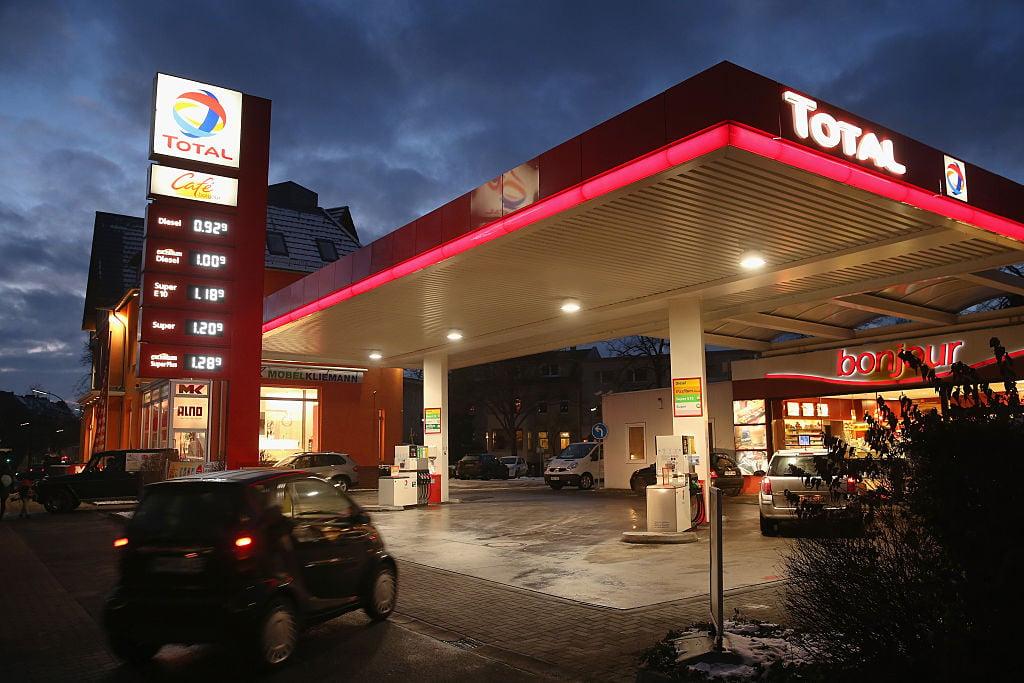 2021年伊始,德國燃油價格跳躍式上漲。(Sean Gallup/Getty Images)