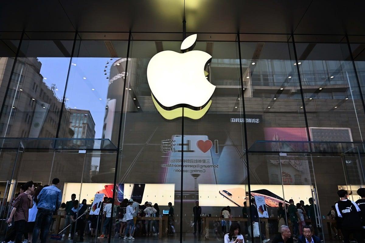蘋果公司將於周二(9月10日)推出三款新的iPhone。(HECTOR RETAMAL/AFP)