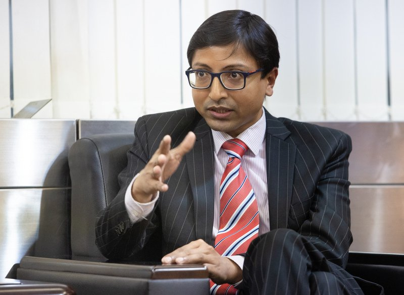 印度駐台代表戴國瀾(Gourangalal Das)指出,為吸引外國投資,印度政府提供空前優惠的獎勵措施,印度市場為台灣提供大量機會,台灣也可提供印度產業轉型所需專業知能,技術合作。(中央社)