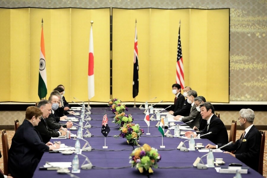 四國外長會議期間 中共喉舌發經濟威脅
