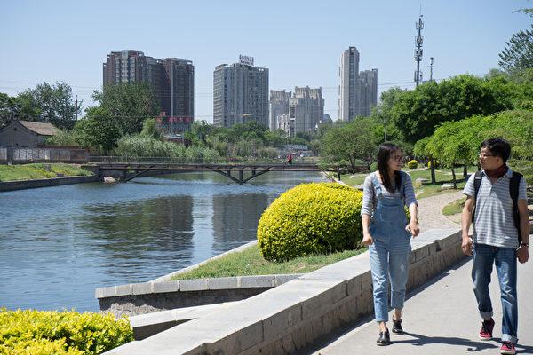 北京寫字樓空置率創新高。圖為資料圖。(大紀元資料室)