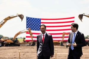 白宮:特朗普未提支持郭台銘在台競選總統