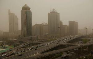 北京再現沙塵暴 污染嚴重 官媒喜報遭諷