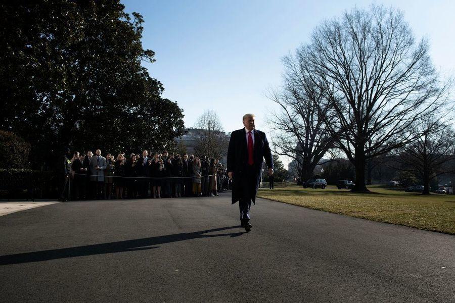 特朗普1月6日後首次公開講話 澄清多個問題