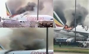 浦東機場貨機起火 348架航班取消