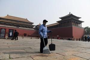 疫情下北京再現陰霾天 部份地區重度污染