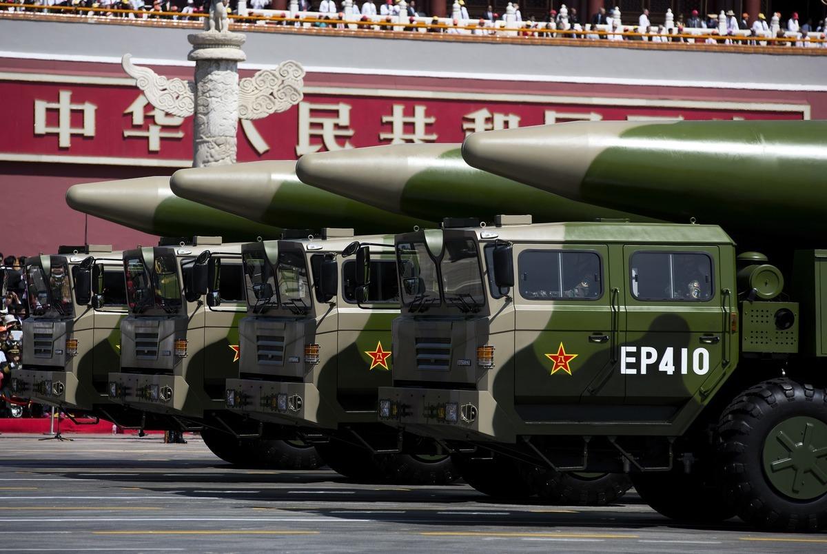 2018年,中共在北京天安門舉行閱兵儀式。(Andy Wong-Pool/Getty Images)