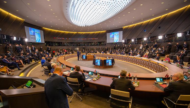 2021年6月14日,北約成員國首腦在比利時的布魯塞爾舉行峰會,中共的挑戰被正式列入議題。(北約NATO官網)