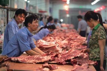 大陸豬肉價漲85% 雞蛋漲34% 引發民怨