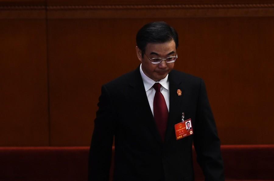 周強未參加中共人大會議 引熱議