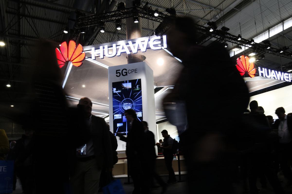 展望5G新時代,在美國抵制華為滲透的角力中,到底誰勝誰敗? (AFP)