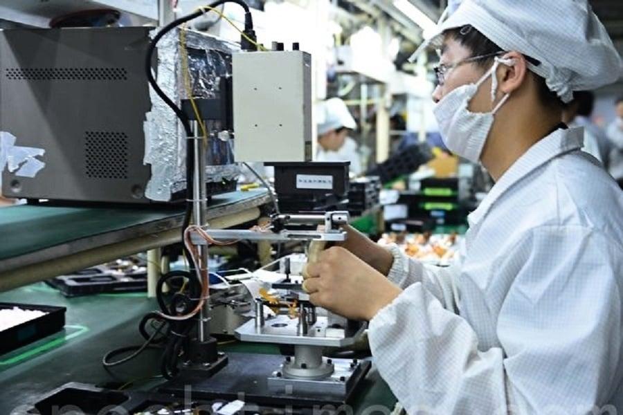 大陸4月製造業PMI下滑 新訂單12年最低