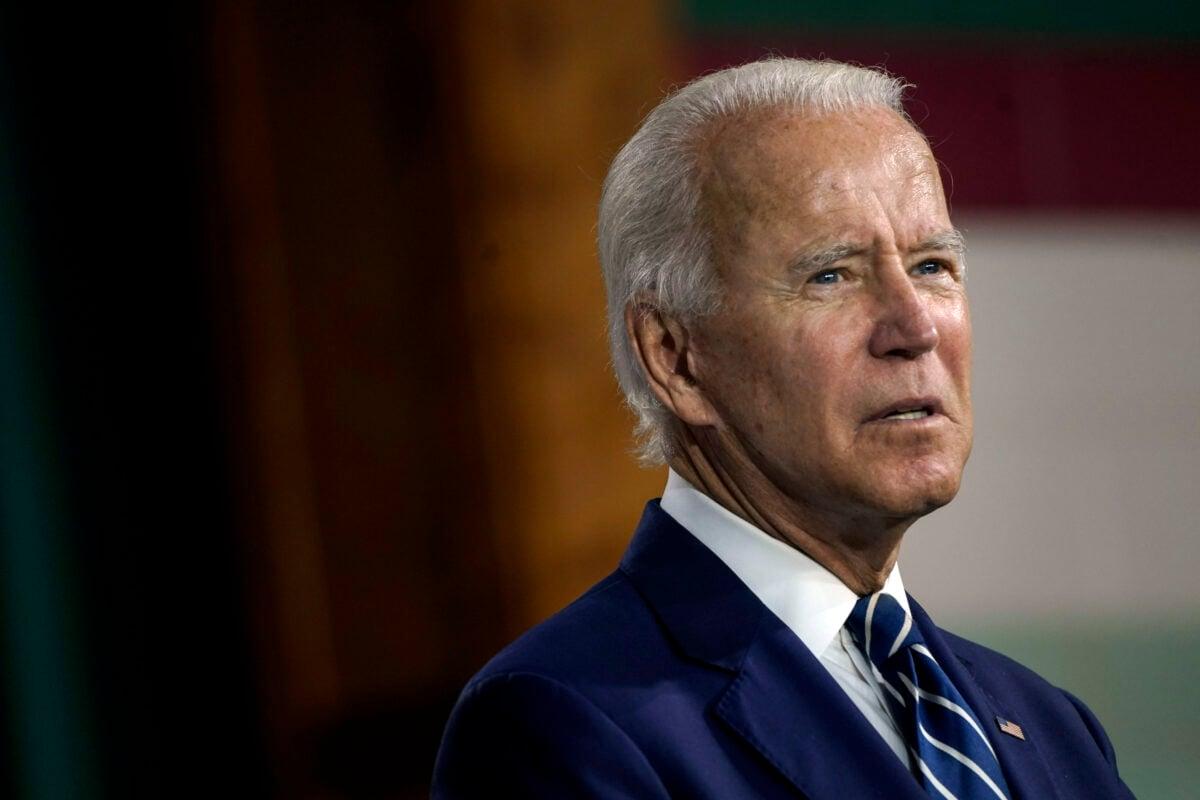 12月8日,由美國國會眾議院和參議院議員組成的總統就職典禮聯合委員會通過投票,拒絕確認拜登在2020年選舉中獲勝。圖為拜登資料照。(Drew Angerer/Getty Images)