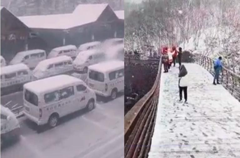 已近6月 吉林多地降雪上微博熱搜榜【影片】