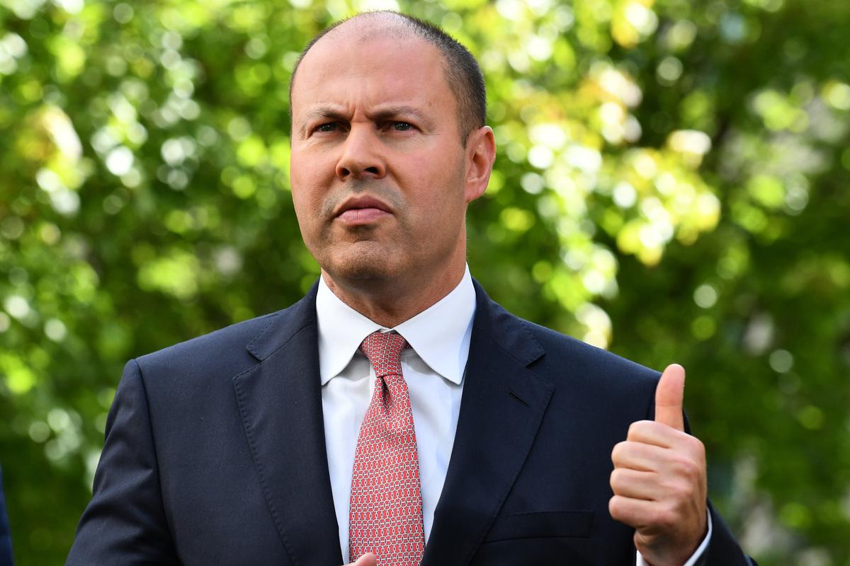 澳洲財長弗萊登伯格(Josh Frydenberg)表示,澳洲政府的立場是雖然澳洲重視經濟合作,但絕不會在國家利益上妥協。(Sam Mooy/Getty Images)