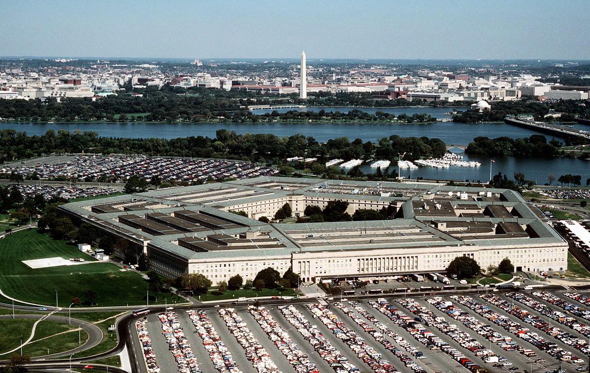 美國五角大樓(如圖)決定不再對設有孔子學院的美國大學提供資助,此舉已促使三所大學關閉孔子學院,預期未來還會有更多大學跟進。(Ken Hammond/Courtesty of the U.S. Air Force/Getty Images)