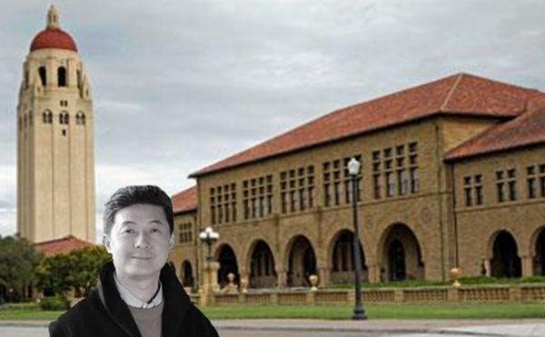 一名前中共官員向美媒透露,張首晟15歲考取復旦大學神秘的「物理二系」時,就已成為中共盜取西方技術情報戰略的一部份。 (新唐人合成)