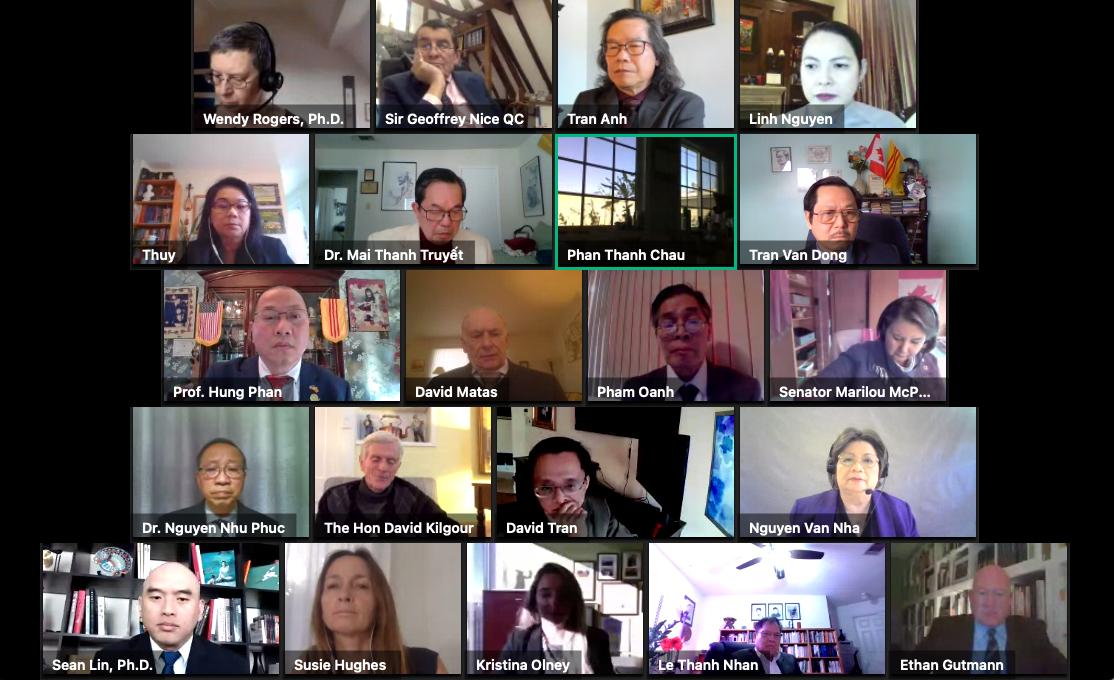 2021年2月24日,「國際終止中國濫用移植聯盟」(ETAC)、華府「共產主義受難者基金會」等117個機構聯合舉辦中共活摘器官研討會,來自美國、英國、加拿大、歐盟、澳洲等25個國家的專家、議員、官員及機構代表等與會。(會議影片)