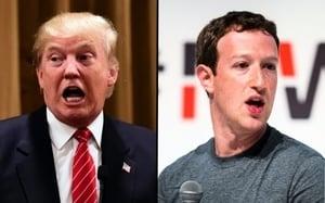 特朗普提上訴 要求恢復面書及Instagram帳號