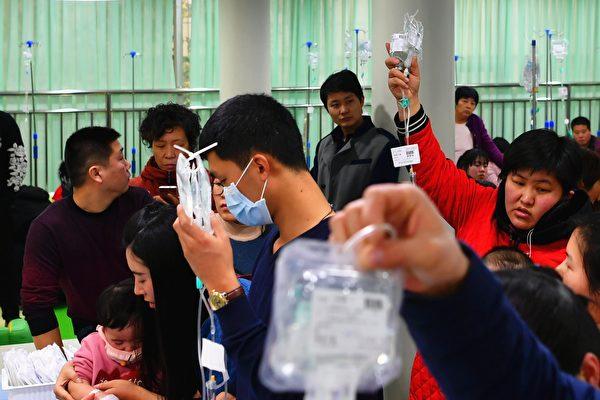 武漢肺炎疫情擴大 大陸多地又爆發流感