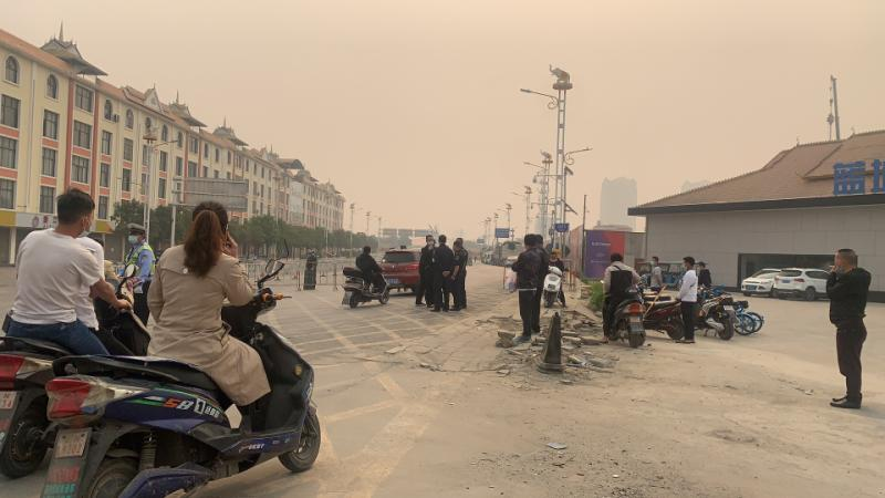 時隔半年,中緬邊境城市瑞麗再度因疫情封城。(知情人提供)