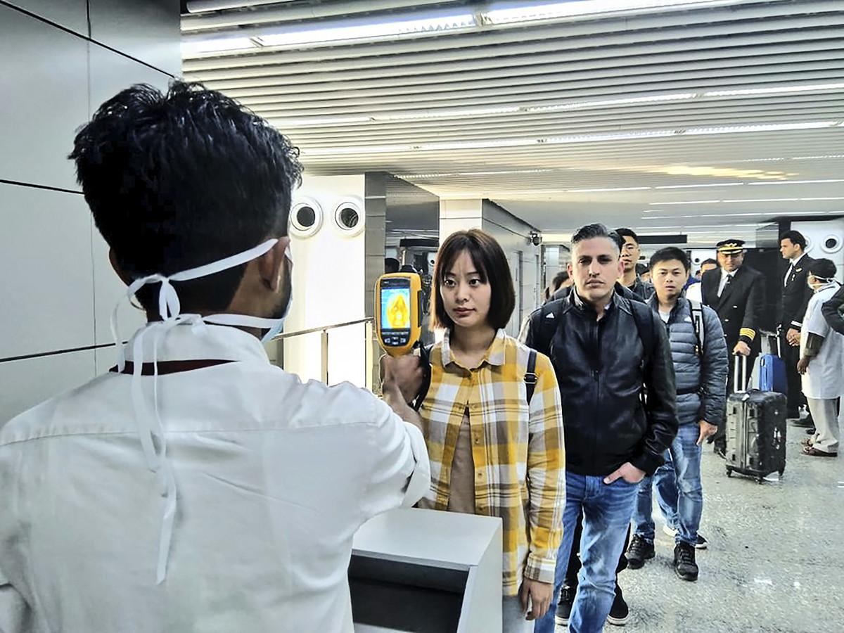 加拿大安大略省周六(2020年1月25日)下午宣佈,多倫多出現加國首例中共病毒(俗稱武漢病毒、新冠病毒、2019-nCov)病例。(Photo by Handout / Ministry of Civil Aviation(MoCA)/ AFP)