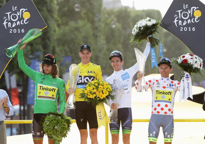 第103屆環法單車賽 Christopher Froome第三次奪冠