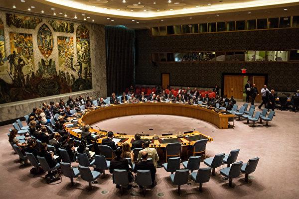 2015年8月19日,聯合國安理會召開會議。(Photo by Andrew Burton/Getty Images)