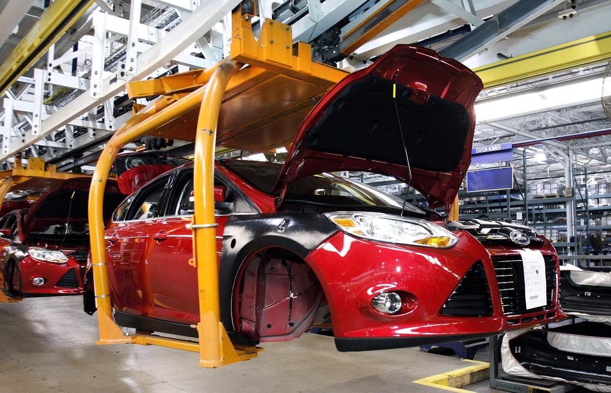 福特汽車宣佈擴大電動、自駕車的投資,在2025年前增至290億美元。(Bill Pugliano/Getty Images)