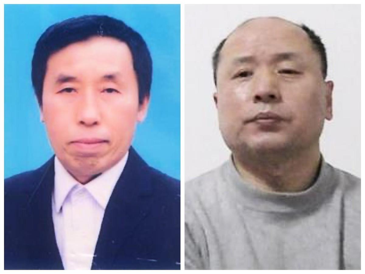 瀋陽理工大學副教授于春生(左圖)被綁架、非法庭審;瀋陽市47歲的航空工程師胡林(右圖)在冤獄中被迫害致死。(大紀元合成圖)